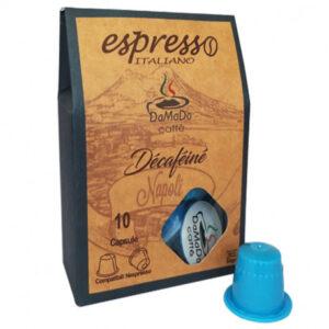 Capsules Nespresso Décaféiné