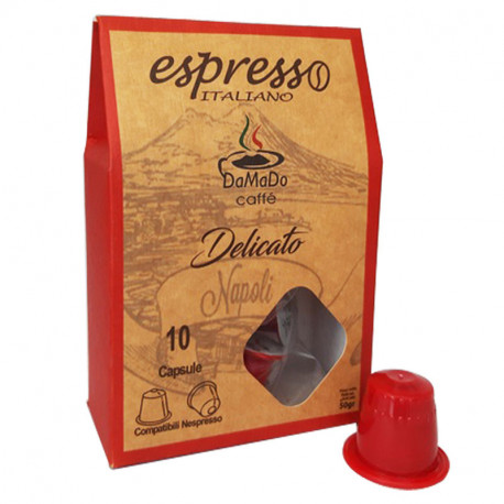 Capsules Nespresso Delicato
