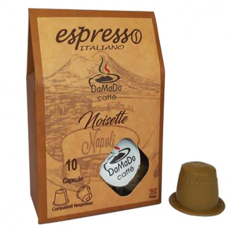 Capsules Nespresso Noisette